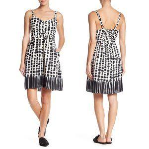 NWT Melloday Black & White Printed V-Neck Dress XL